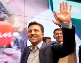 Phản ứng của Nga khi diễn viên hài thắng cử tổng thống Ukraine