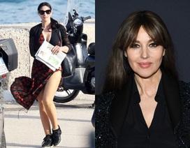 Monica Bellucci vẫn tươi trẻ ở tuổi 55