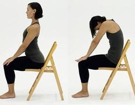 Cập nhật 3 bài tập chữa đau lưng hiệu quả ngay tại nhà