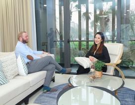Hoa hậu Ngô Phương Lan tiết lộ mối liên hệ giữa không gian sống và hạnh phúc hôn nhân