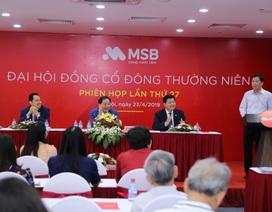 Đại hội cổ đông MSB: MSB  sẽ chyển biến mạnh trong giai đoạn 2019-2023