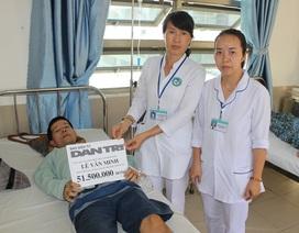 Bạn đọc giúp đỡ anh Lê Văn Minh hơn 76 triệu đồng