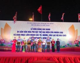 Bài Chòi được UNESCO công nhận là Di sản văn hóa phi vật thể đại diện của nhân loại