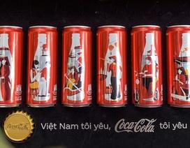 Coca-Cola ra mắt bộ 6 lon phiên bản đặc biệt in hình áo dài, gánh hàng rong Việt