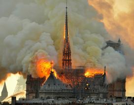 Tình tiết mới về nguyên nhân cháy Nhà thờ Đức Bà Paris