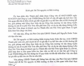 TP Hà Nội đốc thúc xác định lại giá đất để bồi thường dự án làm đường Liễu Giai - Núi Trúc