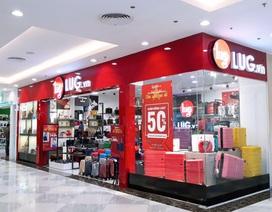 Chuỗi bán lẻ hành lý LUG: Cứ 8 ngày hoàn thành 1 cửa hàng để khai trương