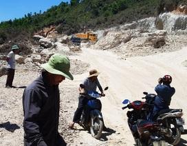 """Bình Định: Nhiều doanh nghiệp đua nhau """"xẻ thịt"""" núi Mò O!"""