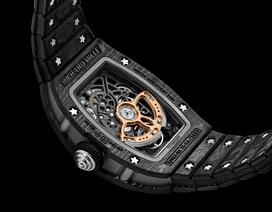 Richard Mille lần đầu ra mắt dây đồng hồ Carbon TPT siêu nhẹ
