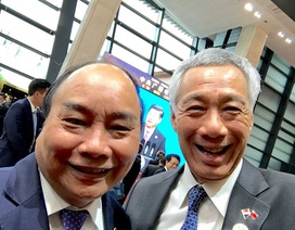 Thủ tướng Singapore Lý Hiển Long đăng ảnh cùng Thủ tướng Nguyễn Xuân Phúc