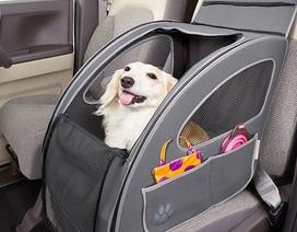 """Bộ dụng cụ """"siêu độc"""" trên xe hơi giúp đem theo thú cưng đi nghỉ lễ"""