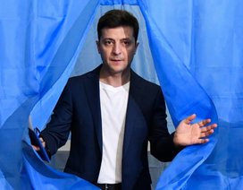 Tổng thống đắc cử Ukraine gây tranh cãi khi dẫn chương trình trên truyền hình Nga