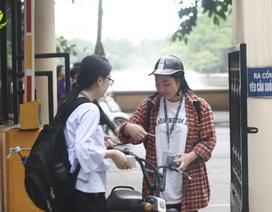 """Thực hiện """"Ngày không xe máy"""", sinh viên ý thức về môi trường từ việc làm nhỏ"""