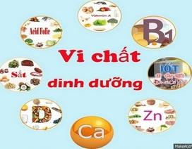 Chất dinh dưỡng vi lượng và sức khỏe