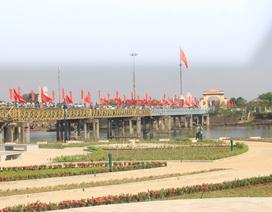 Khánh thành công trình tôn tạo bờ Nam di tích Quốc gia Hiền Lương - Bến Hải