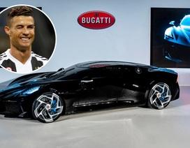 Siêu xe đắt nhất thế giới về tay Cristiano Ronaldo?