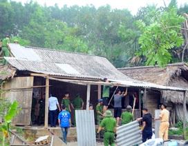 Quên ngày nghỉ, cán bộ, chính quyền giúp dân khắc phục hậu quả lốc xoáy