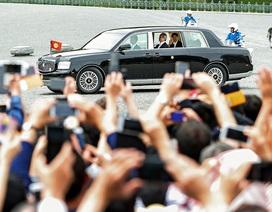Chiếc xe chở tân Nhật hoàng Naruhito tới lễ đăng cơ có gì đặc biệt?
