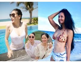 Tình bạn đáng ngưỡng mộ của diva Hồng Nhung và Hoa hậu Hà Kiều Anh