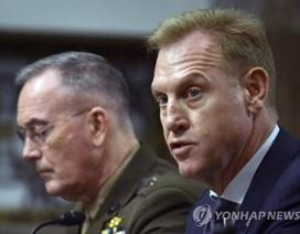 Mỹ vẫn duy trì phương án quân sự nếu ngoại giao thất bại với Triều Tiên