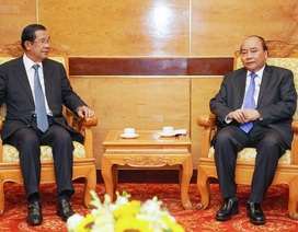 Thủ tướng tiếp đón lãnh đạo Campuchia, Lào sang dự Quốc tang nguyên Chủ tịch nước Lê Đức Anh