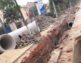 1 công nhân tử nạn khi đào ống nước