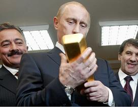 Động lực thúc đẩy Nga dẫn đầu thế giới về mua vàng