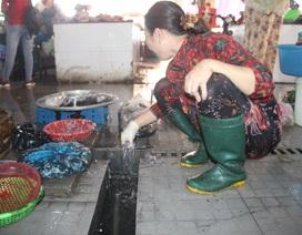 """Khu chợ """"trăm tỷ"""" ô nhiễm nghiêm trọng"""