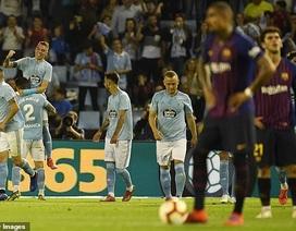 Vắng Messi và Suarez, Barcelona gục ngã trước Celta Vigo