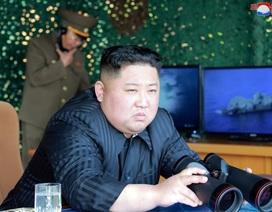 Ông Kim Jong-un trực tiếp thị sát vụ phóng tên lửa đầu tiên sau gần 2 năm