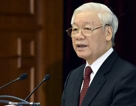 Tổng Bí thư Nguyễn Phú Trọng chúc mừng Quốc vương Thái Lan đăng quang