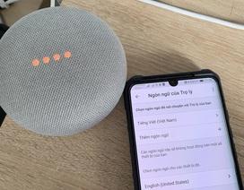 """Thiết bị nhà thông minh Google Home lại giảm giá """"chờ đợi"""" trợ lý tiếng Việt"""