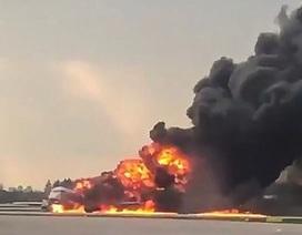Nhân chứng vụ rơi máy bay Nga: Máy bay cháy rực như ngọn đuốc