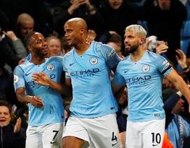 Man City 1-0 Leicester: Siêu phẩm của hậu vệ Kompany