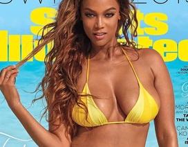 Tyra Banks là gương mặt trang bìa tạp chí áo tắm Sports Illustrated