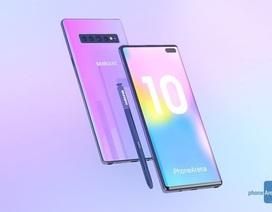 Galaxy Note10 sẽ có tốc độ sạc pin nhanh hơn Galaxy S10 gấp 3 lần