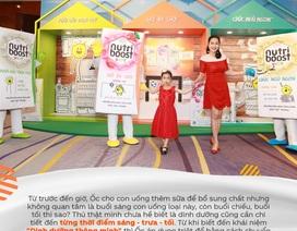 """""""Gánh lo"""" của mẹ nhẹ hơn từ ngày nắm được 3 nguyên tắc kết hợp dưỡng chất cho con"""