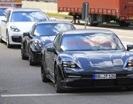 Hình ảnh rõ nét đầu tiên của tân binh Porsche Taycan