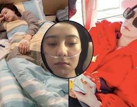 Phạm Băng Băng bị chảy máu mũi, thở oxy trong chuyến từ thiện