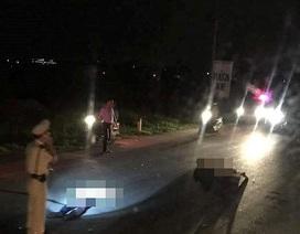 Một công an viên tông xe vào CSGT, cả 2 cùng trọng thương