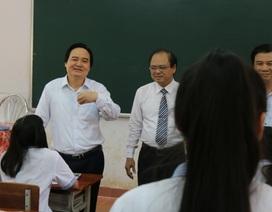 Bộ trưởng Bộ GD-ĐT động viên học sinh trước thềm kỳ thi THPT quốc gia 2019