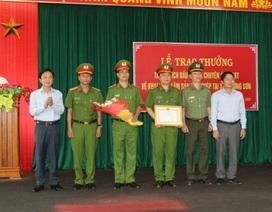Khen thưởng chuyên án phá rừng gỗ lim tại lâm phận Trường Sơn