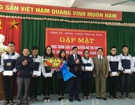 Hà Tĩnh: 10 học sinh được xét tuyển thẳng Đại học, Cao đẳng năm 2019
