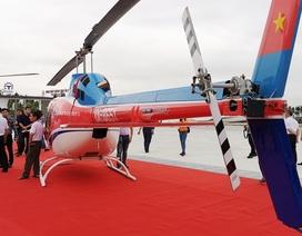 Ra mắt dịch vụ đặt chuyến bay ngắm cảnh bằng trực thăng tại vịnh Hạ Long