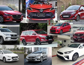 Top 10 mẫu xe bán nhiều nhất tháng 1/2020