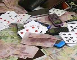 Xã đội trưởng bị khởi tố về tội đánh bạc