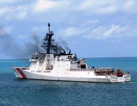 """Venezuela đuổi tàu Mỹ """"le ve"""" gần lãnh hải giữa lúc căng thẳng leo thang"""