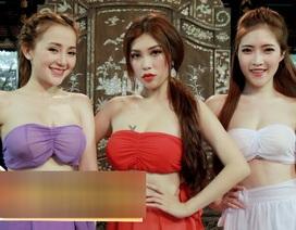 Tràn ngập cảnh nóng, hot girl khoe thân trong web drama Việt