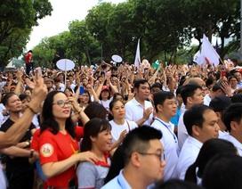 """Hơn 5.000 người đi bộ kêu gọi """"Đã uống rượu, bia - không lái xe"""""""