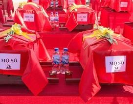 Nghệ An, Thanh Hóa tổ chức lễ an táng hài cốt liệt sĩ hy sinh tại Lào